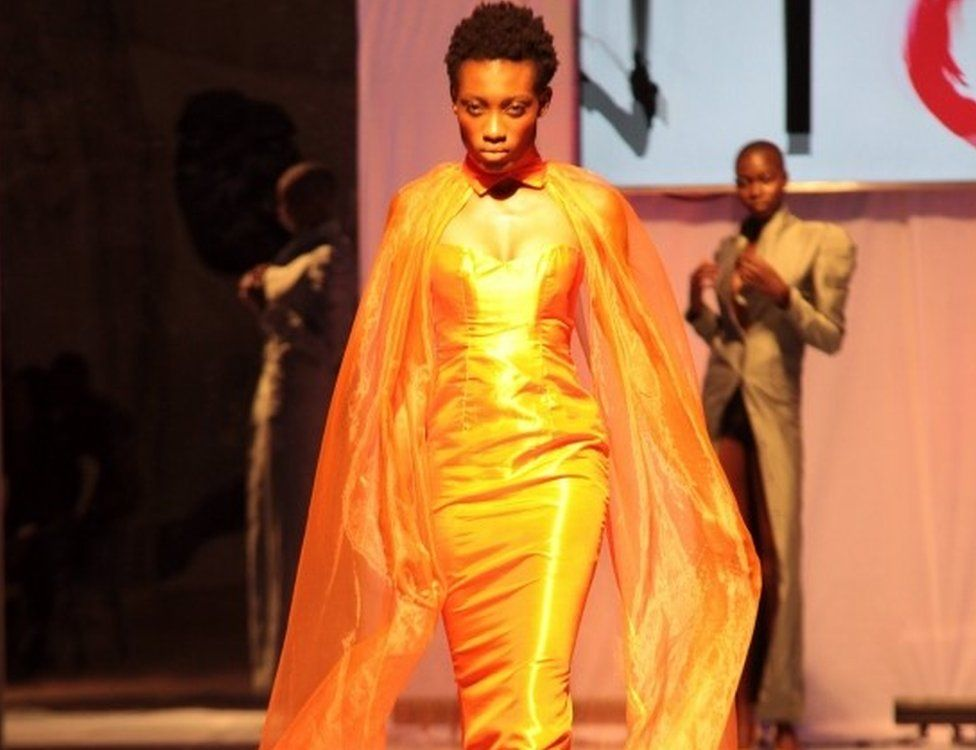 dModels present creations by Mark Johnson uring the Accra Fashion Week, in Accra, Ghana, 31 March 2018. The Accra Fashion Week attracts top West African and African designers to showcase their creations from 29 March to 01 April