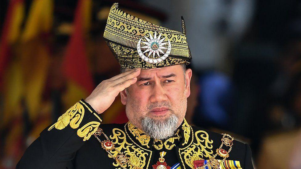 Image shows Sultan Muhammad V