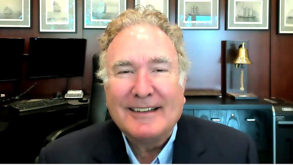Royal Caribbean's CEO Richard Fain