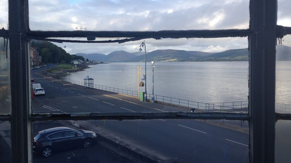View from Rothesay pavilion