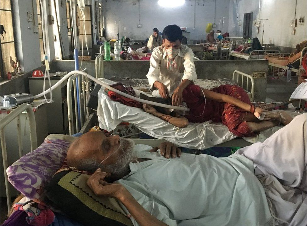 Patients in the hospital