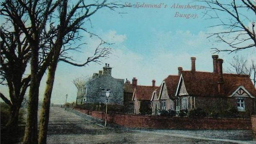 St Edmund's Almshouse circa 1920s