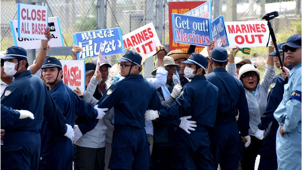 2016 protests against US bases in Okinawa