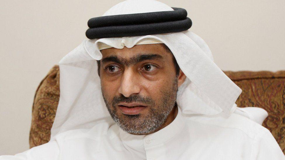 Ahmed Mansoor speaks to Reuters in Dubai, 30 November 2011