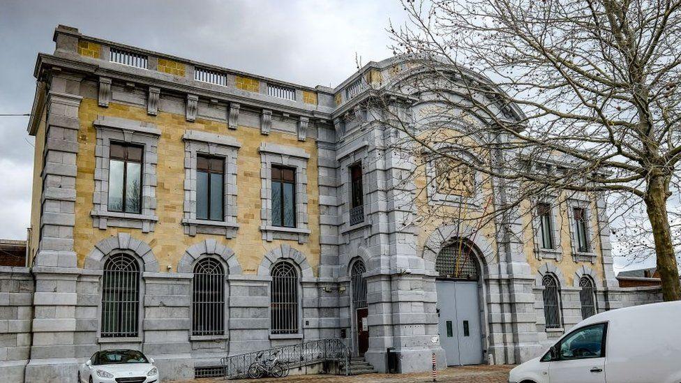 Image showing Namur prison, on February 19, 2021
