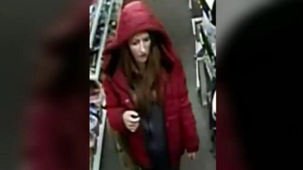 CCTV image of Natalie Jenkins