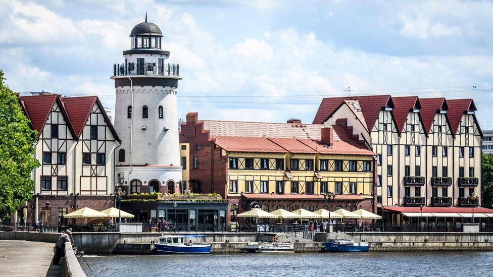 Kaliningrad is a city of fishermen. Previously, its port was home to a powerful fleet, which sent ships to fish in all the oceans of the world