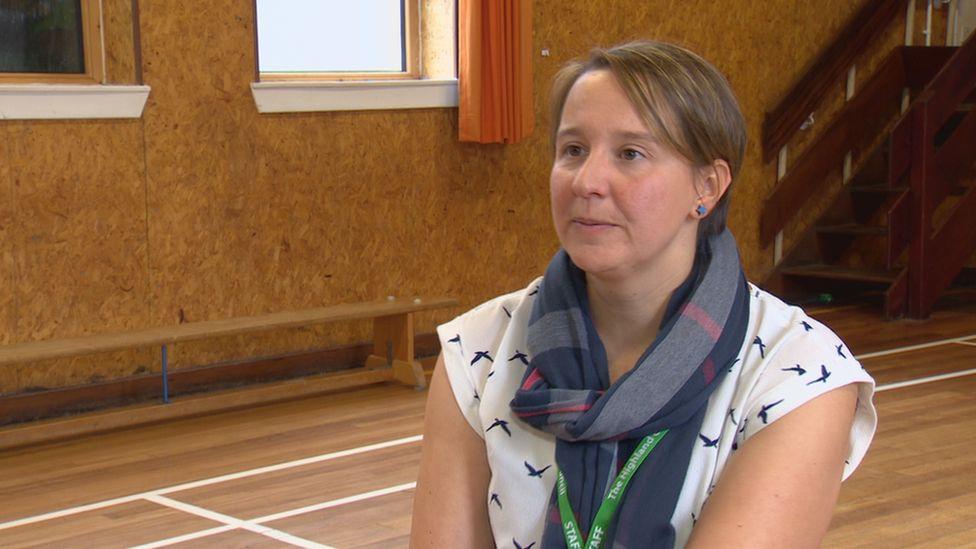 Head teacher Pamela Hill
