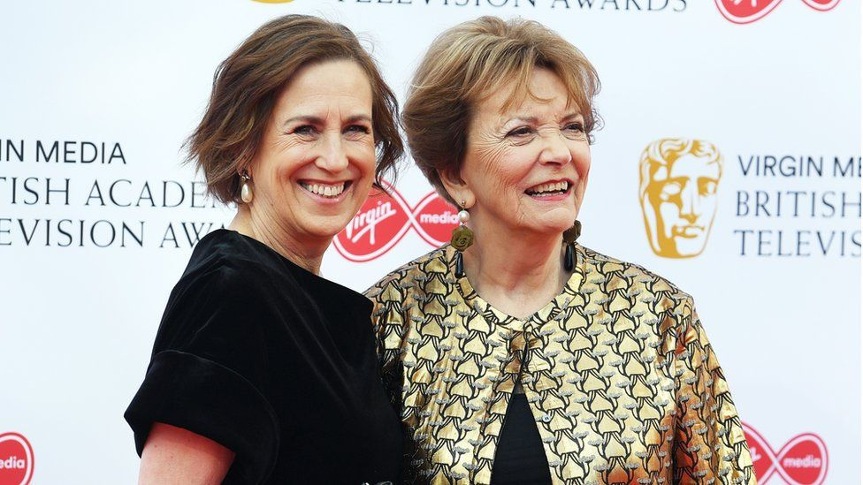 Kirsty Wark and Baroness Bakewell