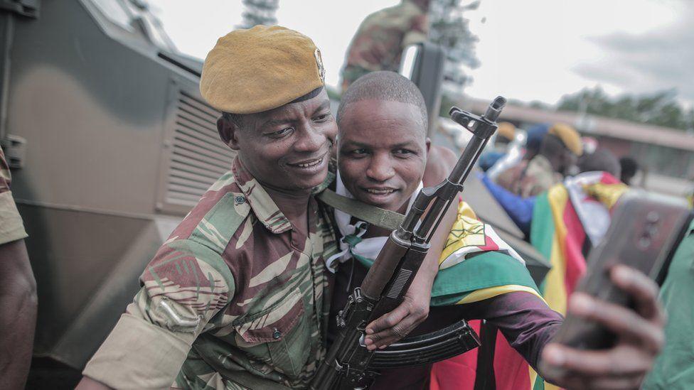 Zimbabwean soldier