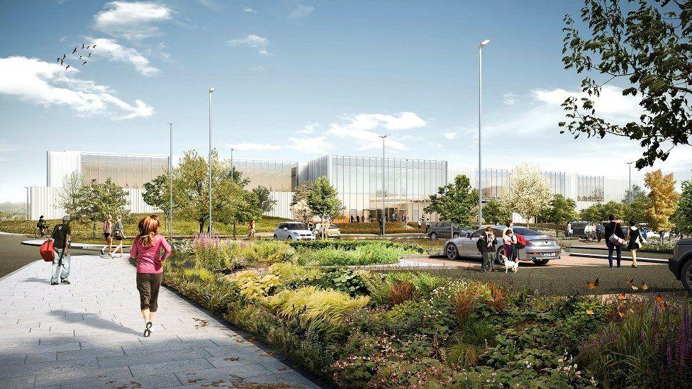Leisure centre plan