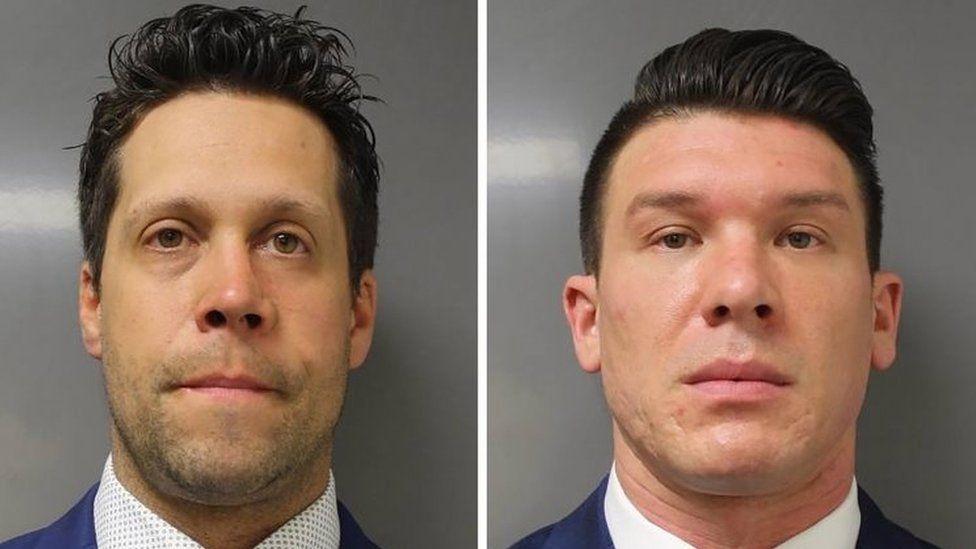 Aaron Torgalski (left) and Robert McCabe
