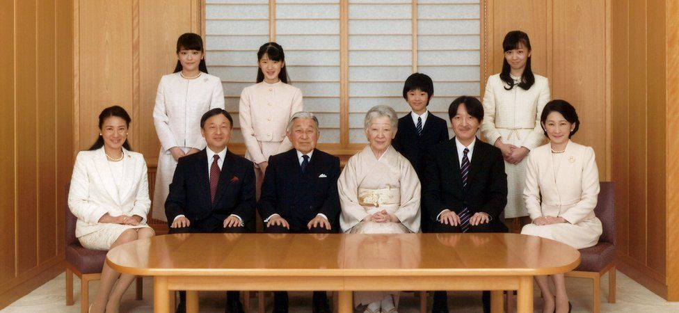 The Japanese royal family (Nov 2016)
