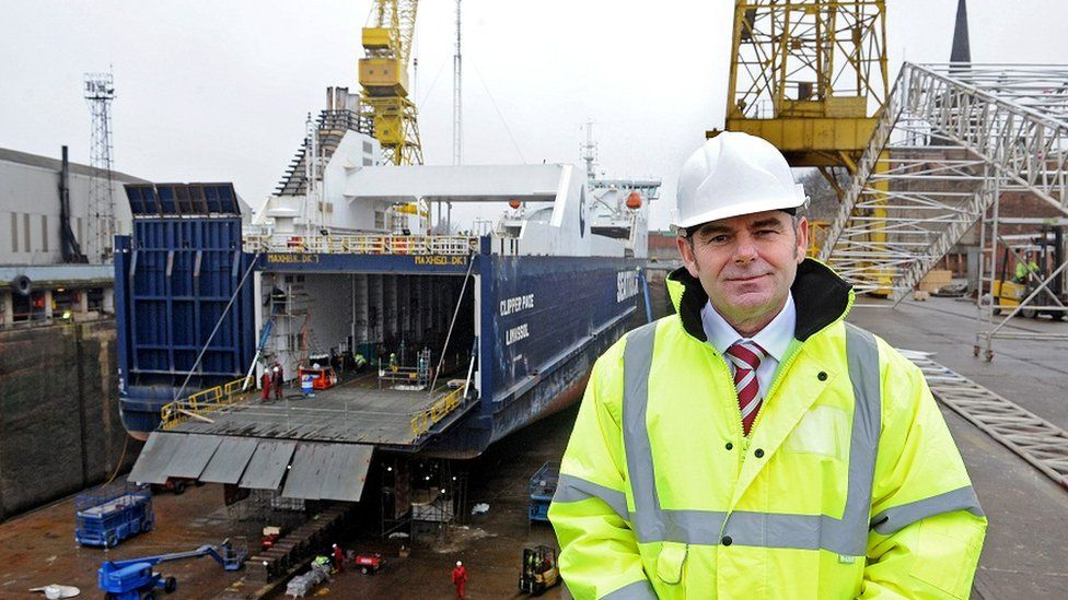 Cammell Laird CEO John Syvret CBE said the company were proposing a naval ship based design.