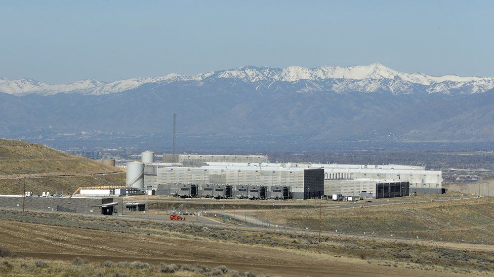 A US National Security Agency data centre in Utah.