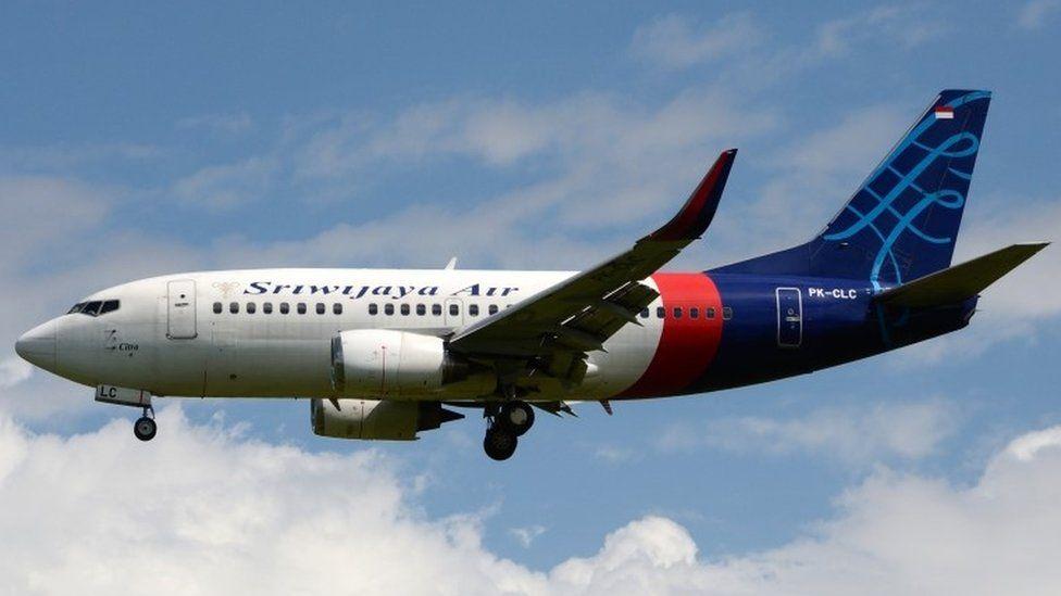 The plane that is believed crashed, the Sriwijaya Air flight 182 (registration PK-CLC) PK-CLC