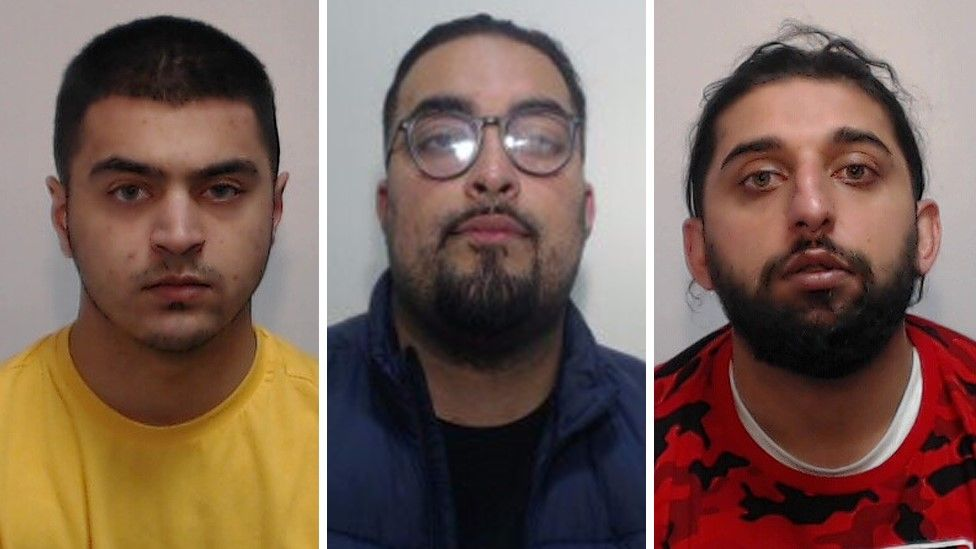 Kamran Mohammed, Mohammed Izaarh Khan and Khayam Ali Khurshid