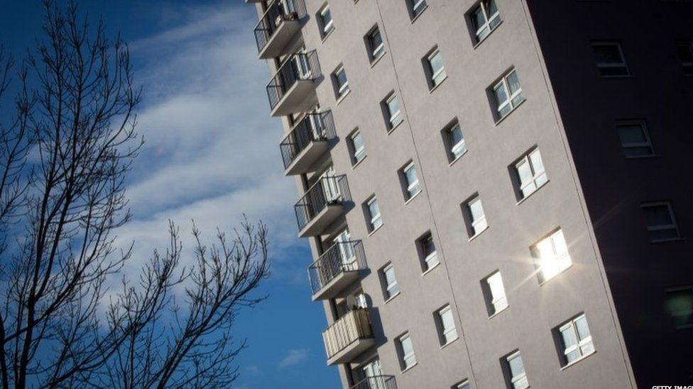 Block of flats in Bristol