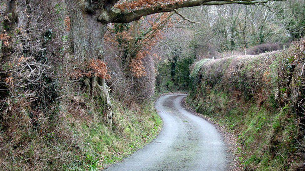 Llansannan new road