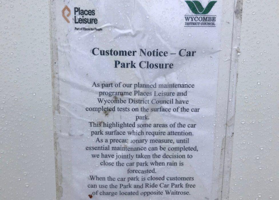 Wycombe Leisure Centre Car Park