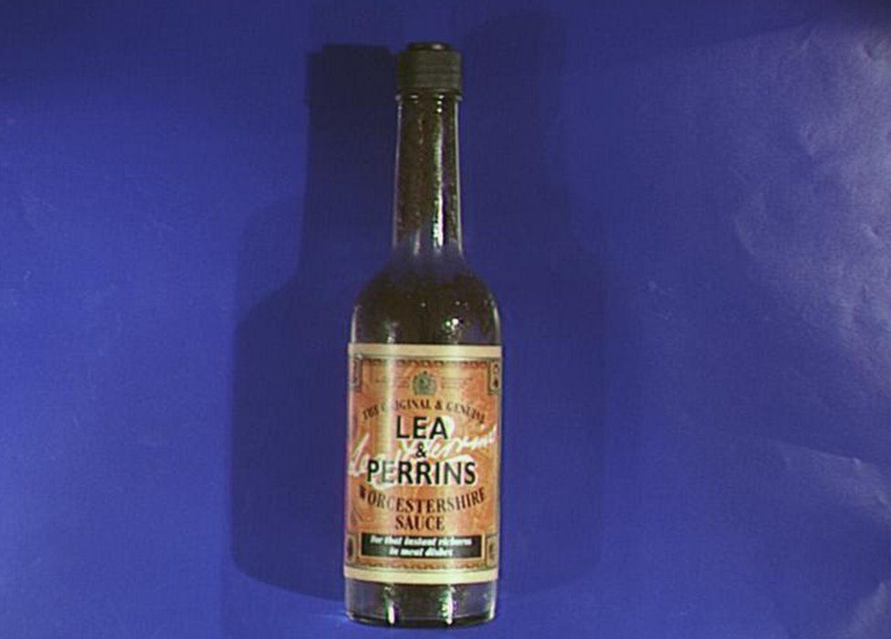 Worcestershire sauce bottle