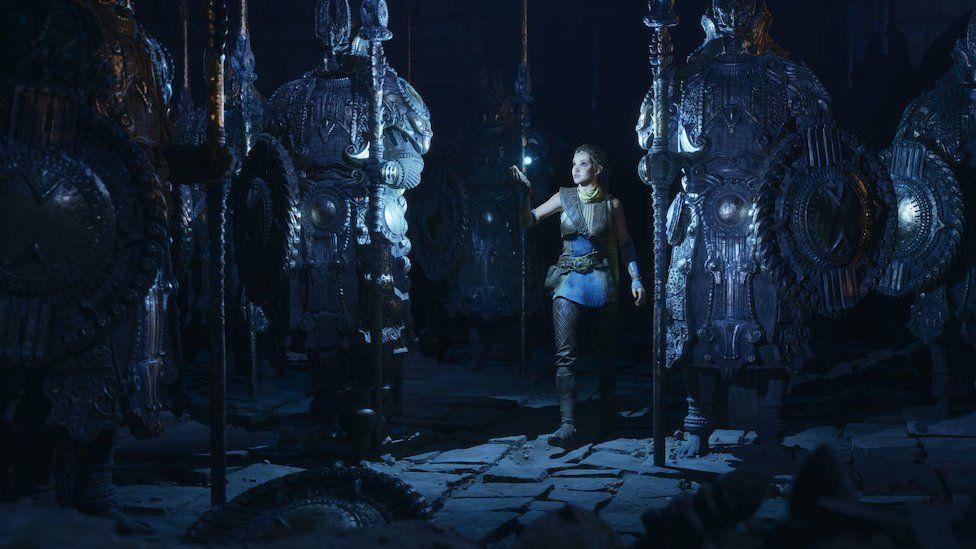 Demonstration video of Unreal Engine 5