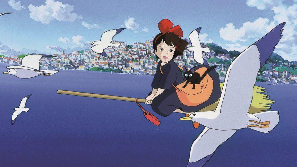 Kiki's Delivery Service still from Studio Ghibli film of same name