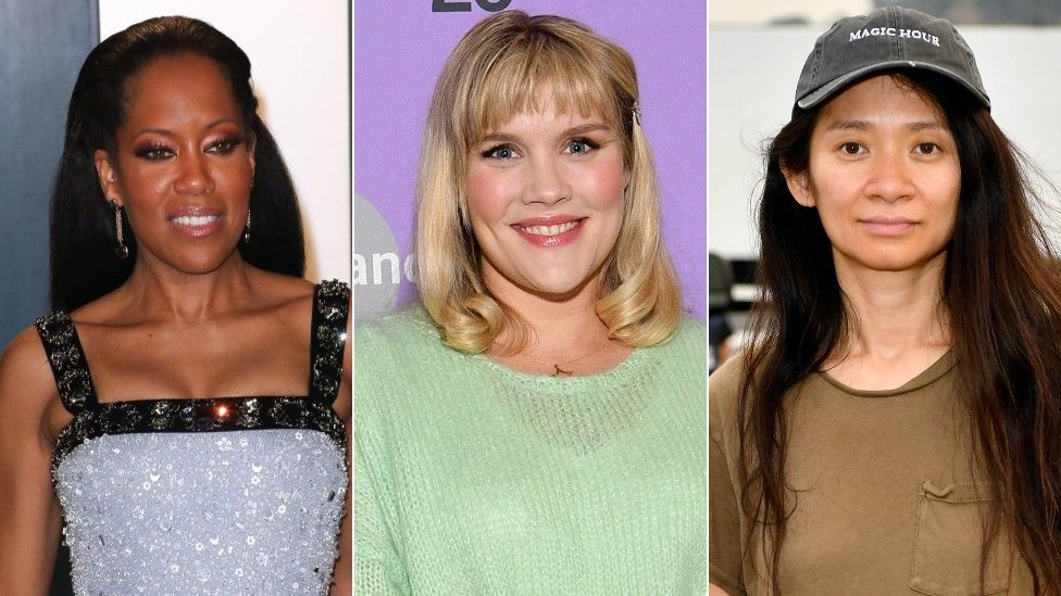 Regina King, Emerald Fennell, dan Chloe Zhao