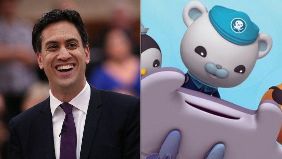 Ed Miliband and the Octonauts