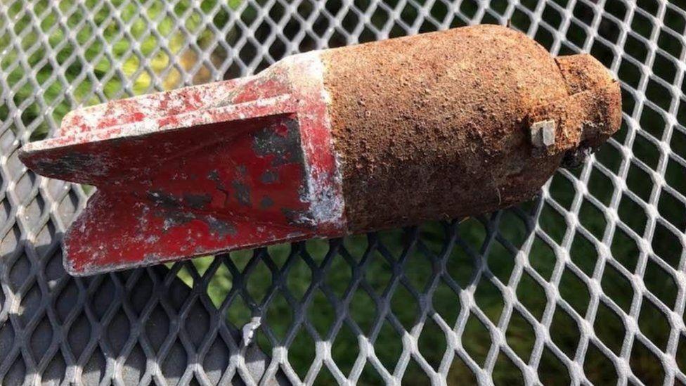 Bomb found in Bristol