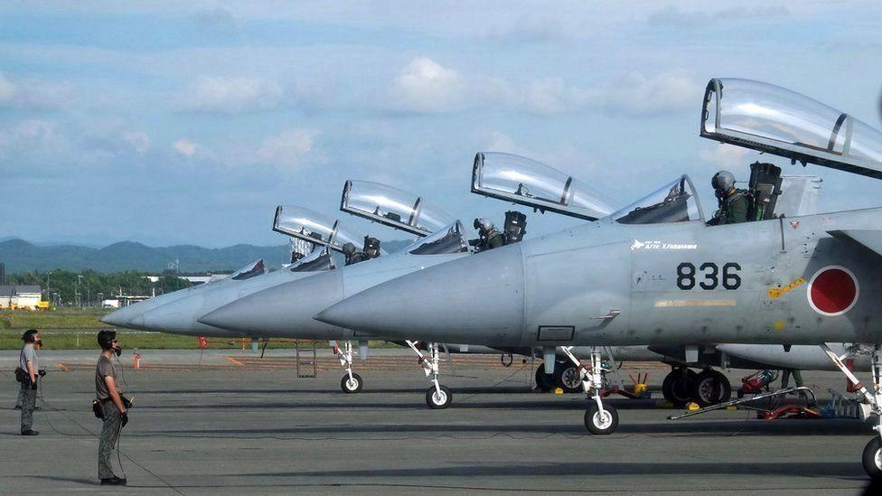 Japanese fighter jets