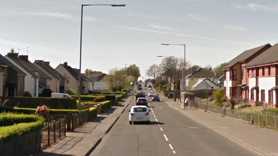 Old Edinburgh Road in Uddingston