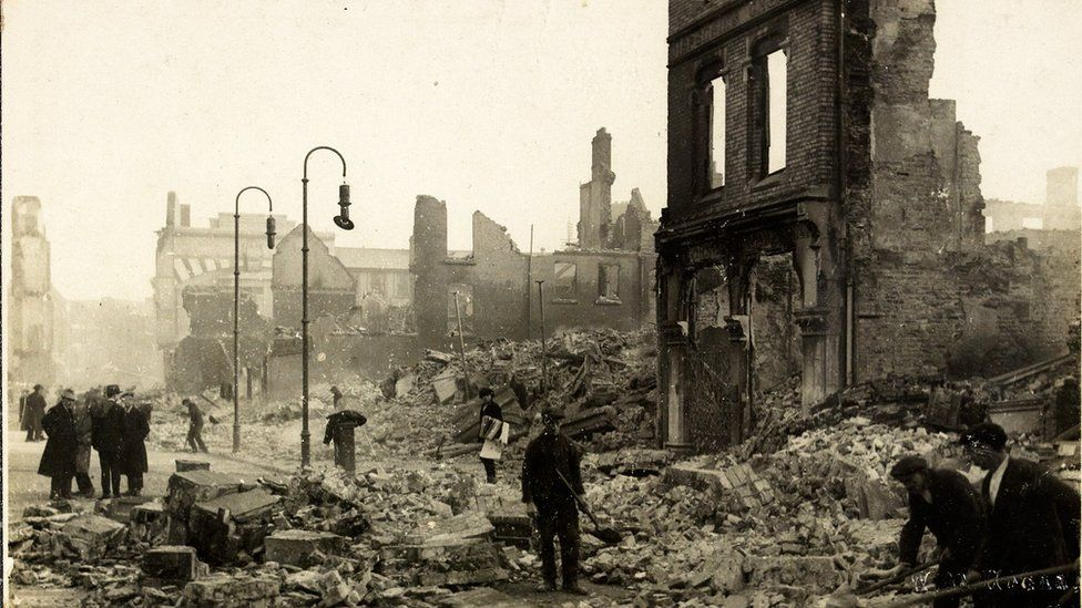 Cork was burned by British forces during the Irish War of Independence