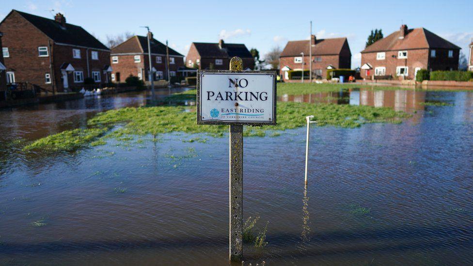 Floods in Cowick