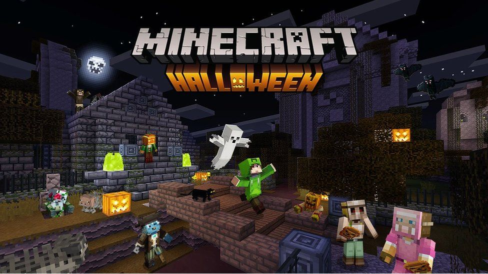 Halloween Spooky Gaming Updates For Roblox Minecraft Fortnite And More Cbbc Newsround