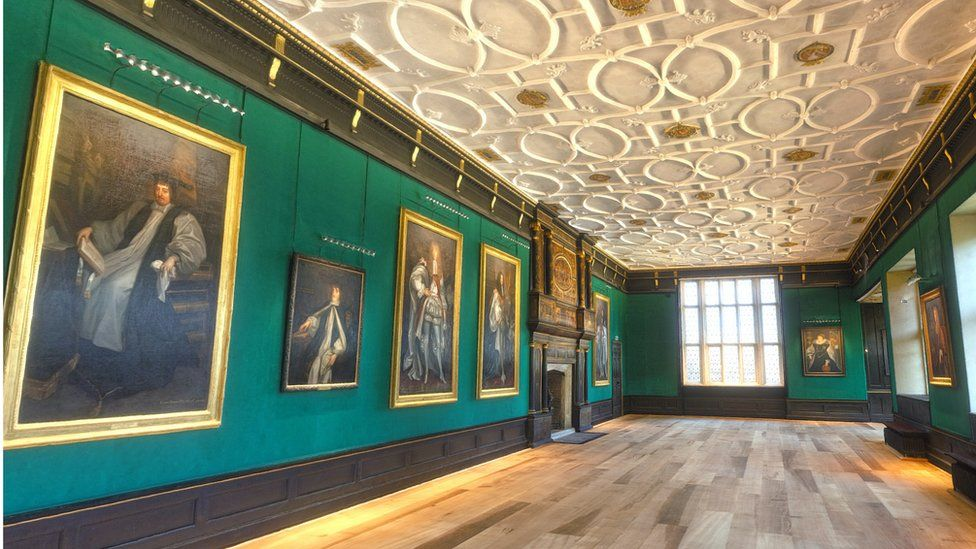 The Great Chamber at London's Charterhouse is the only Tudor great chamber to survive in London