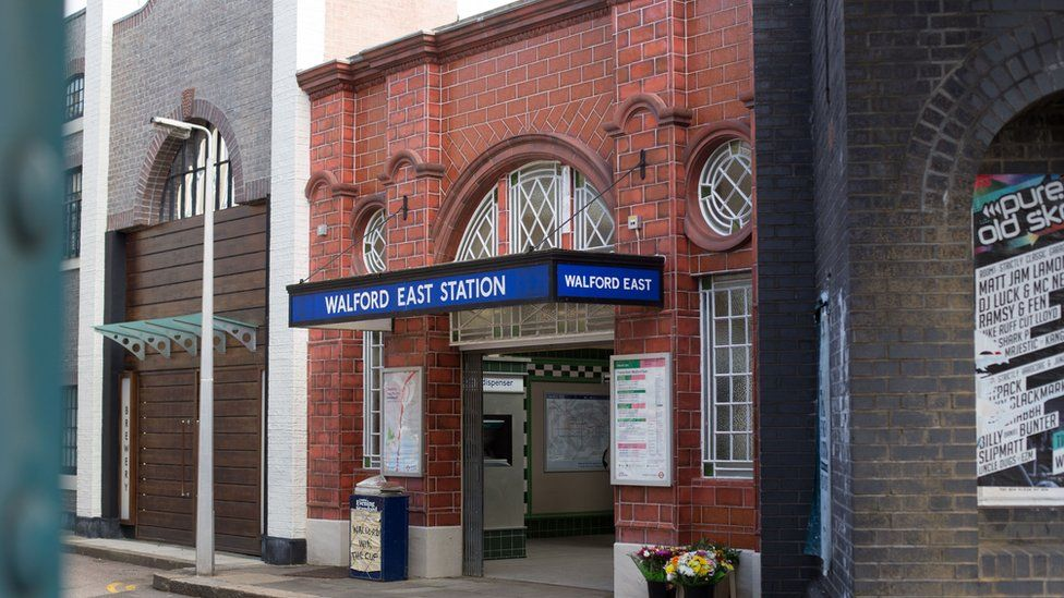 Walford East Station