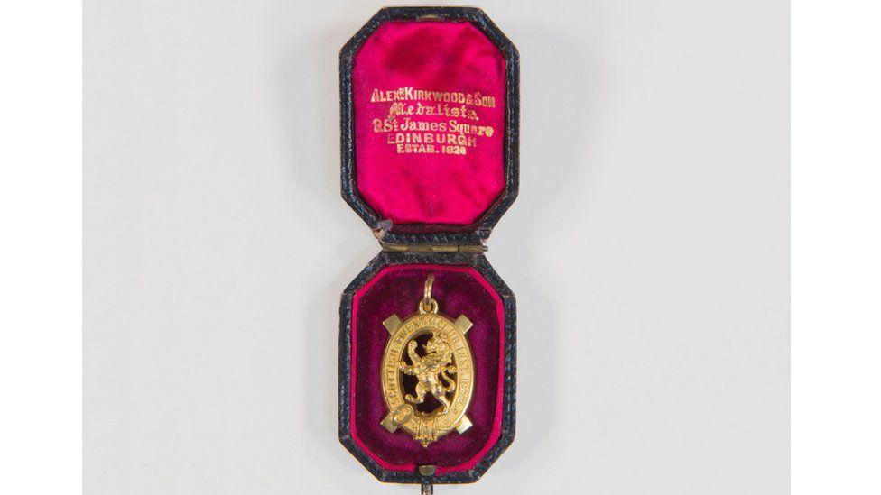 Scottish Twenty Shooting Gold Medal