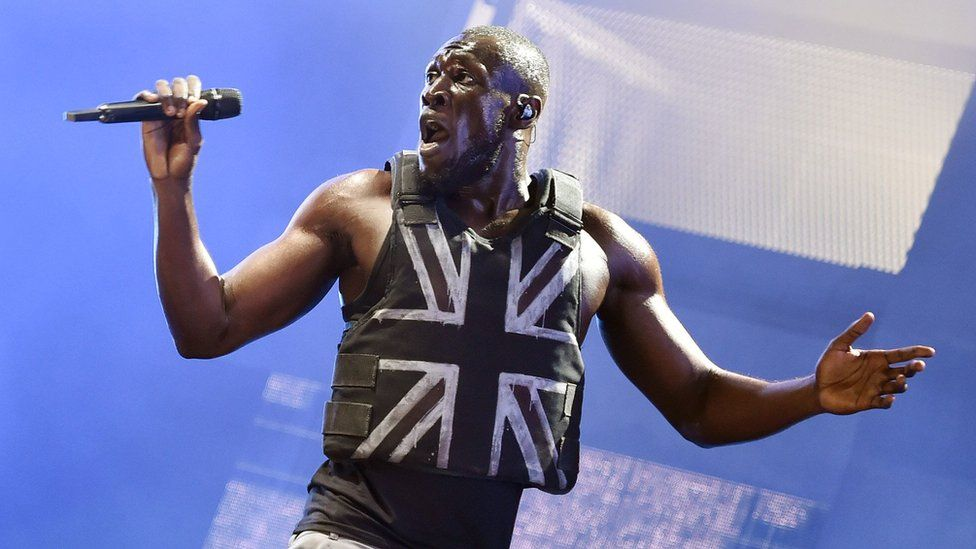 Stormzy tears up the stage at Glastonbury