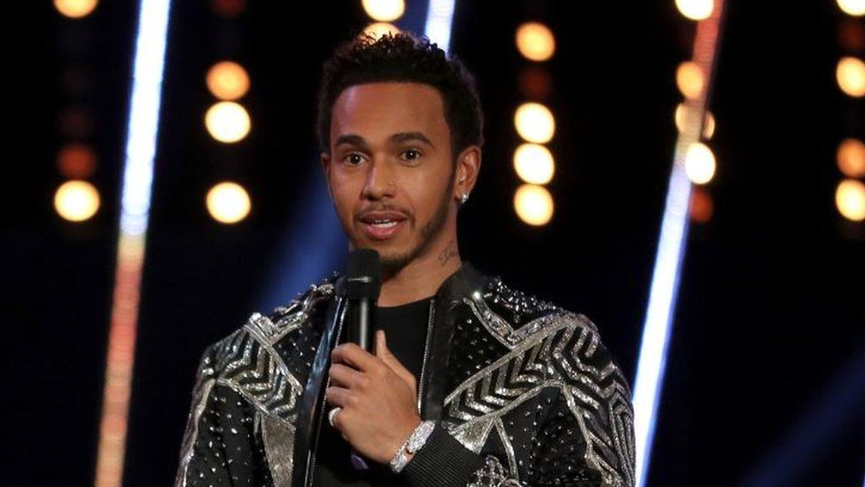 """Lewis Hamilton seemed to refer to Stevenage as """"the slums"""" on stage at the BBC Sports Personality of the Year Awards"""