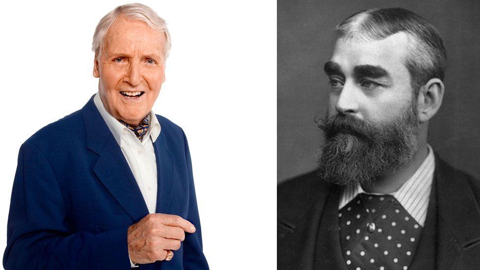 Nicholas Parsons and Sir Francis Cowley Burnand