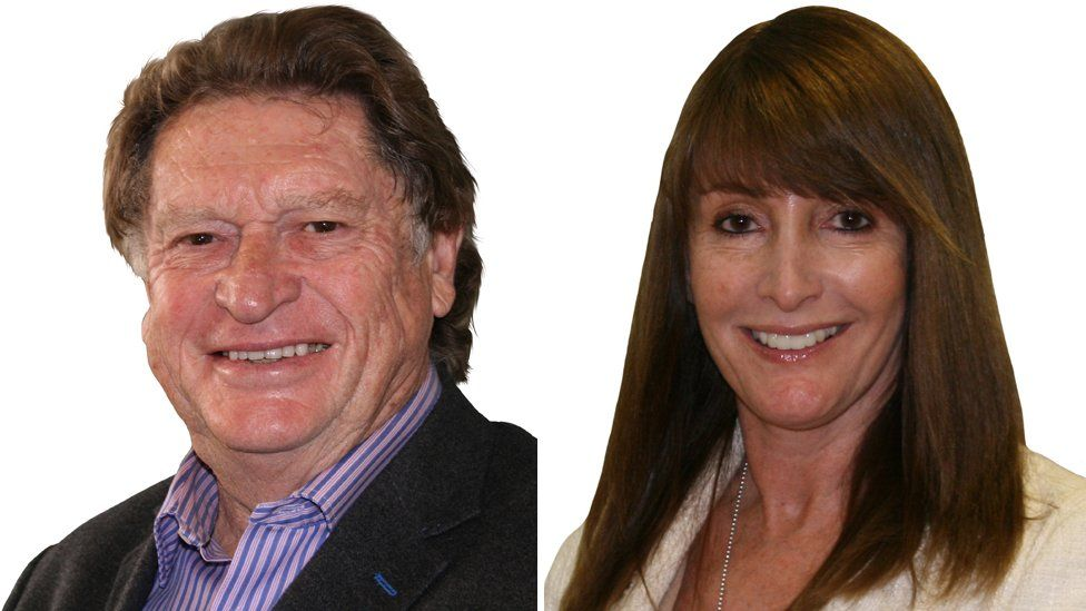 Ray Nottage and Claire Bath