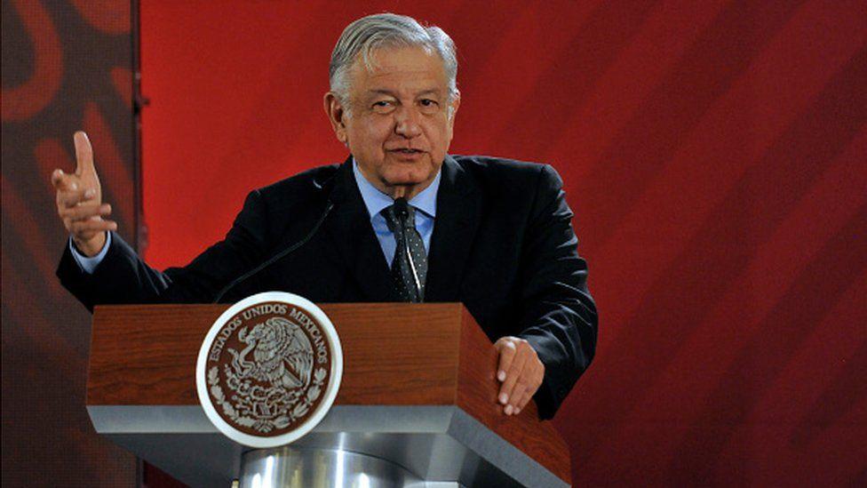 Mexico's President Lopez Obrador