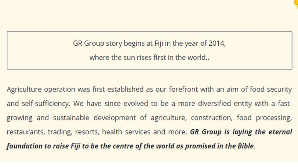 Gr Group tagline