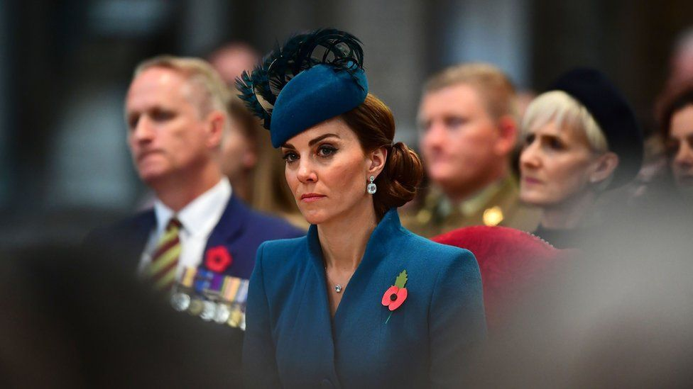 Duchess of Cambridge at Westminster Abbey