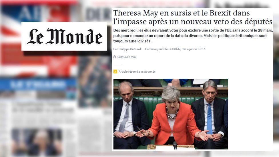 Le Monde screengrab