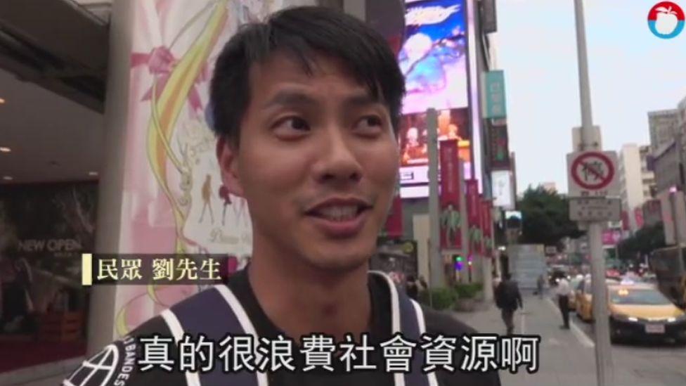 "Mr Liu says milk case ""a waste"""