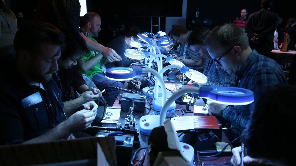A Hacked By Def Con event at Tribeca Film Festival in 2016