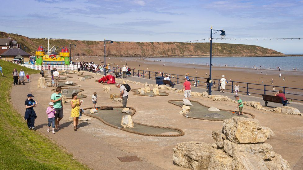 Te seaside resort of Filey is included in the Borough of Scarborough figures