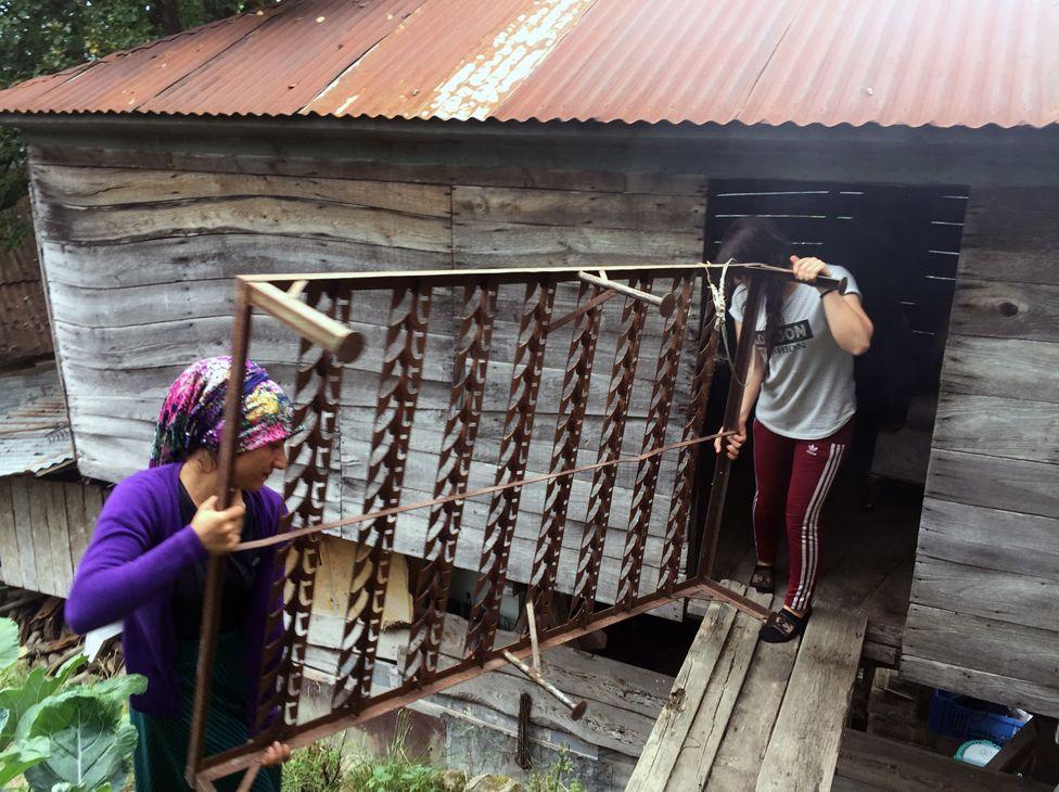 Worker's shack